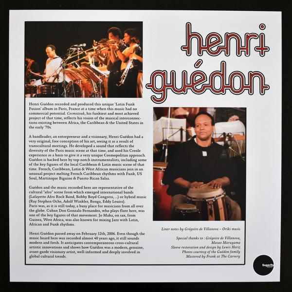 Henri Guedon - Cosmozouk Percussion