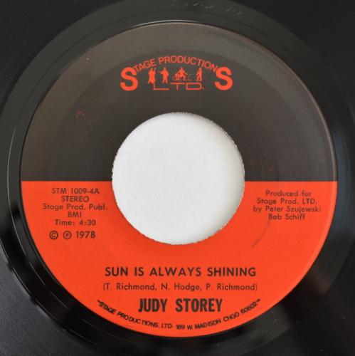Judy Storey - Sun Is Always Shining / Close Your Eyes