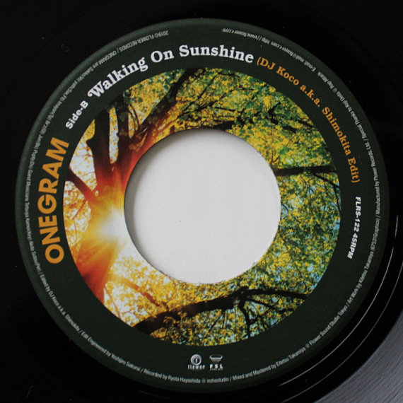 ONEGRAM - Walking On Sunshine