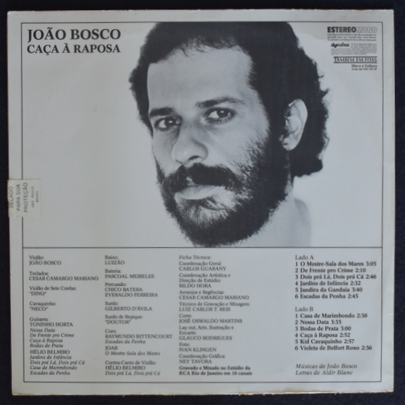 Joao Bosco - Caca A Raposa