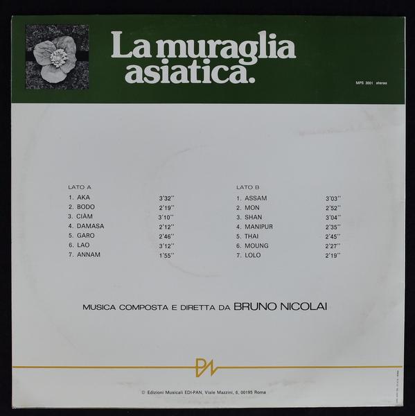 Bruno Nicolai - La Muraglia Asiatica