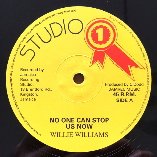 Willie Williams  ‎– No One Can Stop Us Now