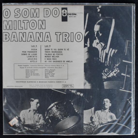 Milton Banana Trio - O Som Do Milton Banana Trio