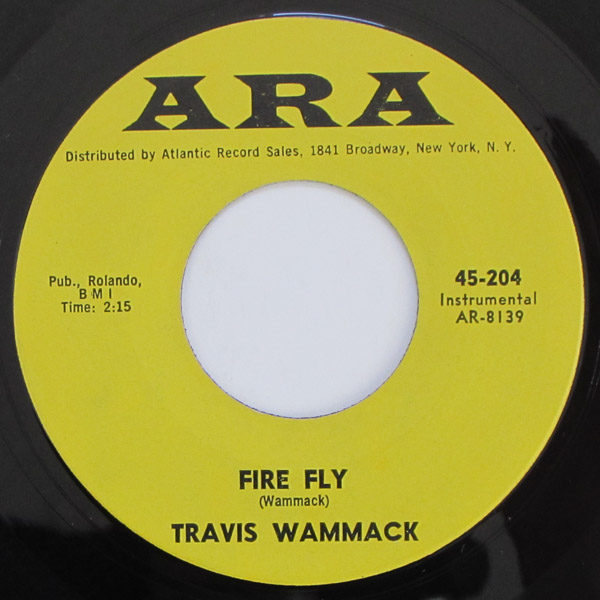 Travis Wammack - Fire Fly / Scratchy