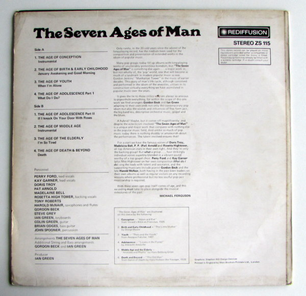 Seven Ages Of Man - S/T