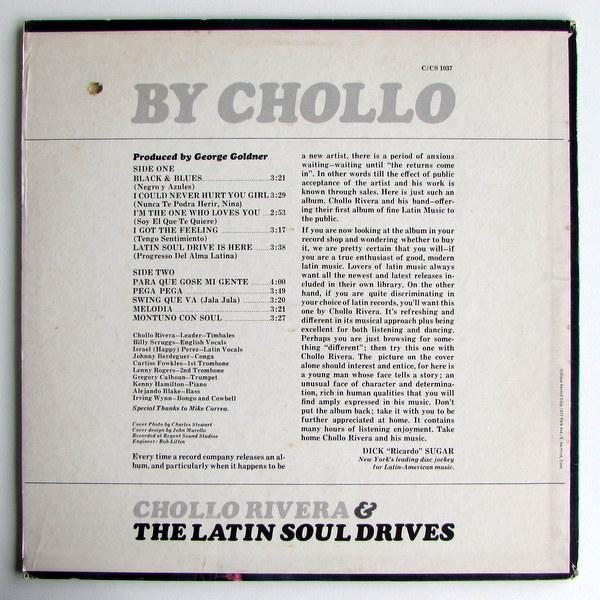 Chollo Rivera & The Latin Soul Drivers