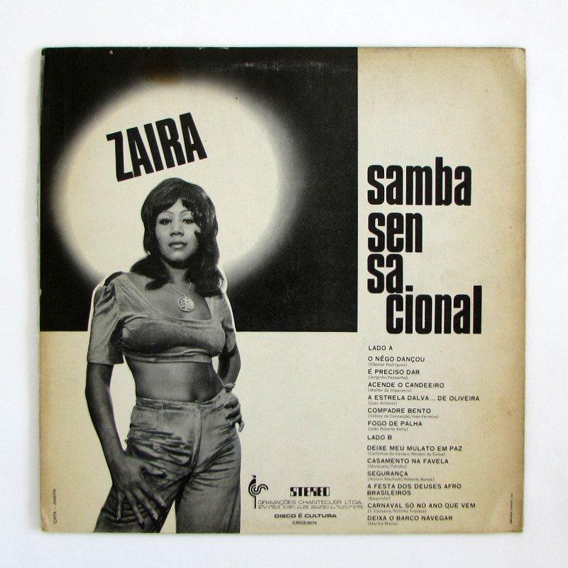 Zaira - Samba Sensacional