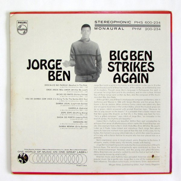 Jorge Ben - Big Ben Strikes Again