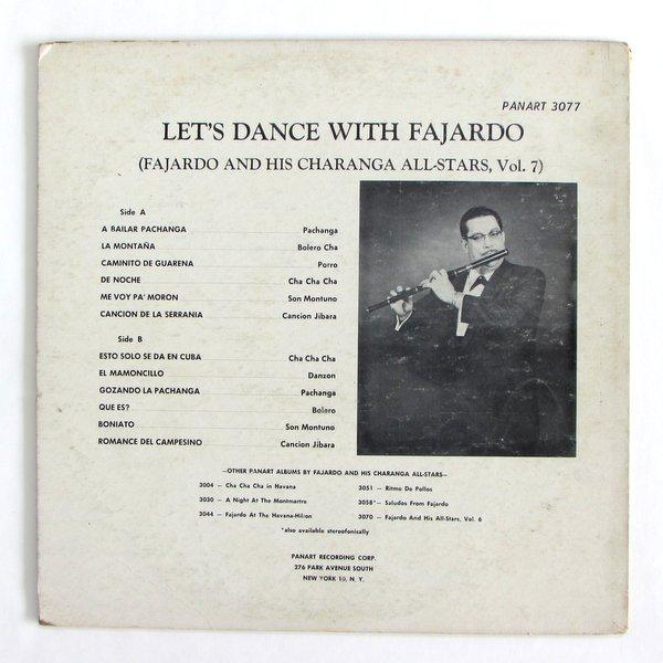 Fajardo And His Charanga All-Stars / Let's Dance With Fajardo