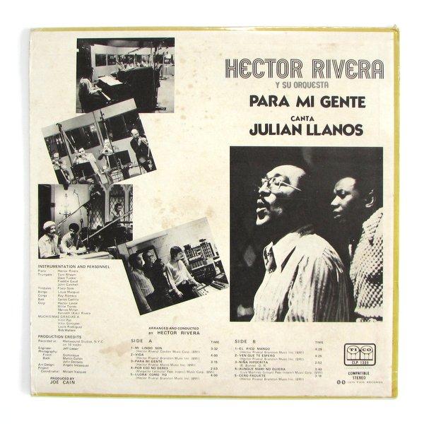 Hector Rivera Y Su Orquesta - Para Mi Gente
