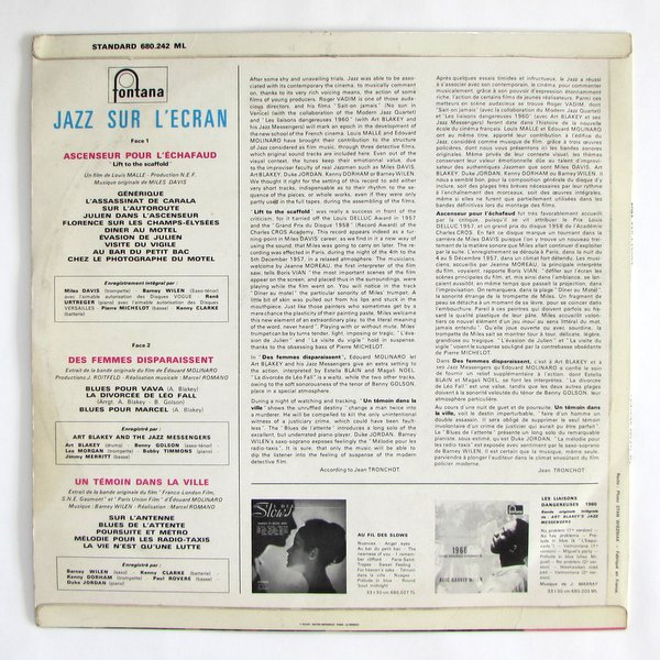 V.A / OST - Jazz Sur L'ecran