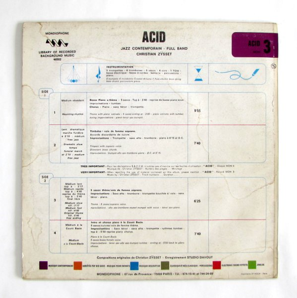 Christian Zysset - Acid