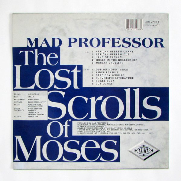 Mad Professor - The Lost Scrolls Of Moses