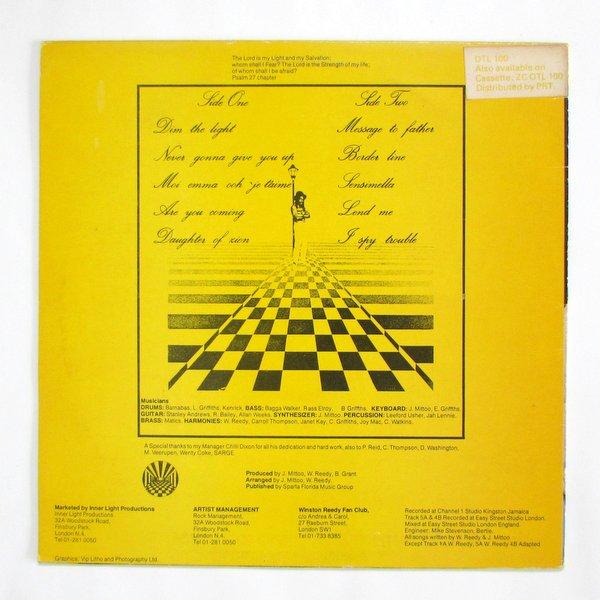 Winston Reedy - Dim The Light UKオリジナル Lovers Rock名盤。
