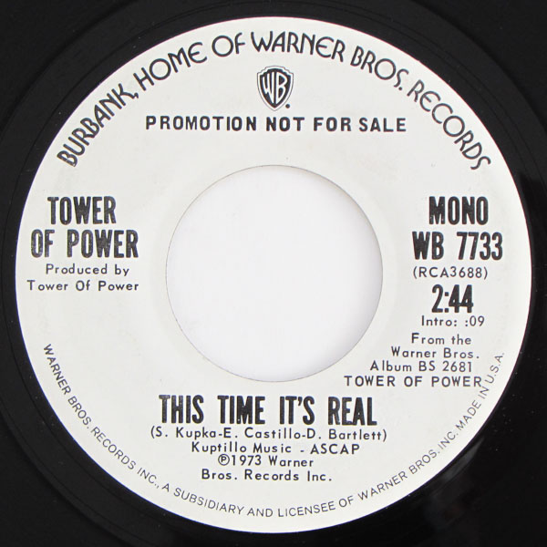Tower Of Power - This Time It's Real (Stereo) / (Mono)