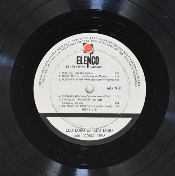 Edu Lobo Com A Participacao Do Tamba Trio - A Musica De Edu Lobo Por Edu Lobo