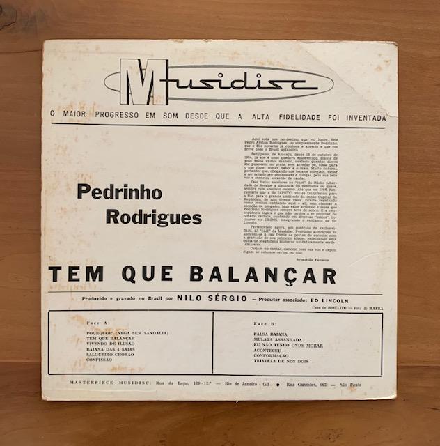 Pedrinho Rodrigues – Tem Que Balançar
