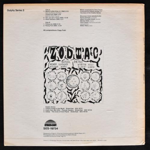 Cecil Payne - Zodiac (The Music Of Cecil Payne)