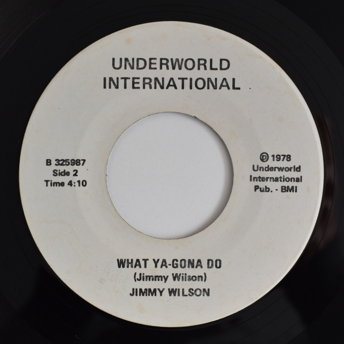 Jimmy Wilson - Inside Out (Inside Of Every Moment) / What Ya-Gona Do