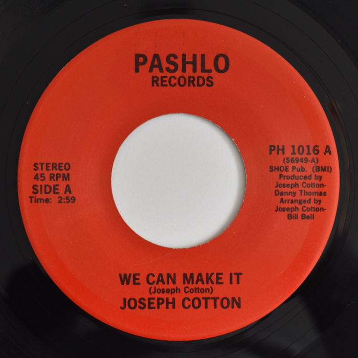 Joseph Cotton - We Can Make It / Day By Day
