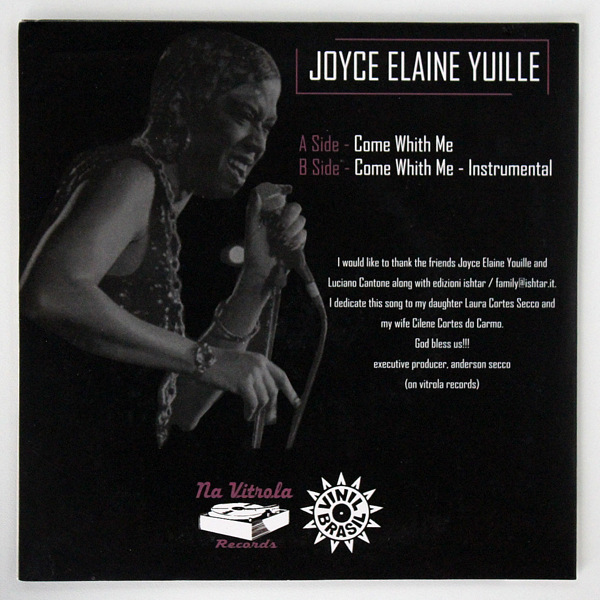 Joyce Elaine Yuille - Come With Me ( Vocal / Instrumental )