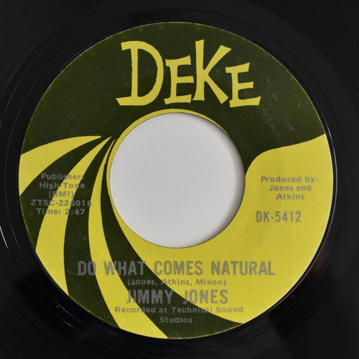 Jimmy Jones - Do What Comes Natural / I'm So Glad I Got You