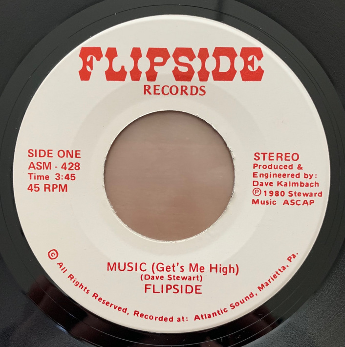 Flipside - Music (Get's Me High) / Havin' A Party