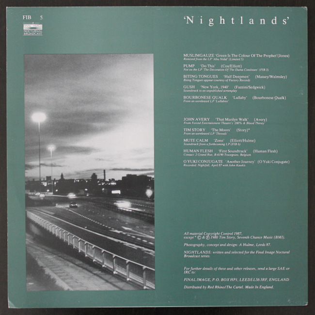 Various - Nightlands Tim Story