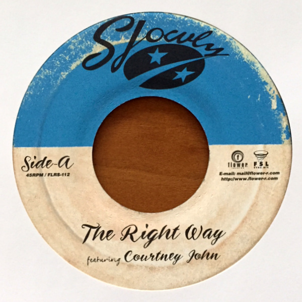 Slowly - The Right Way featuring Courtney John / The Right Way (Instrumental)