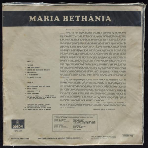 Maria Bethania - Maria Bethania