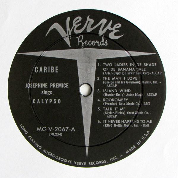 Josephine Premice - Caribe