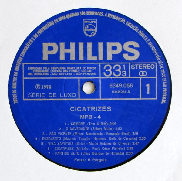 MPB4 - Cicatrizes コーティングジャケ、オリジナル。