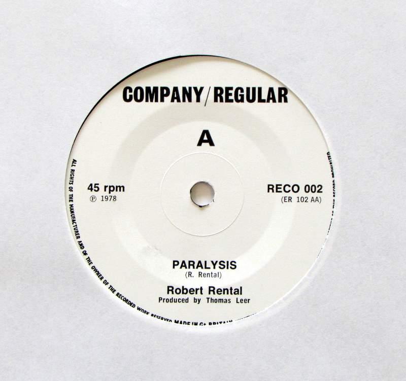 Robert Rental - Paralysis Acc