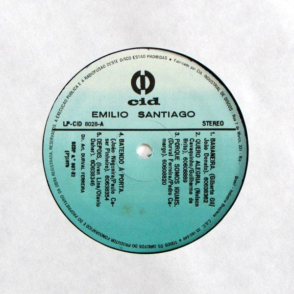 Emilio Santiago - S/T
