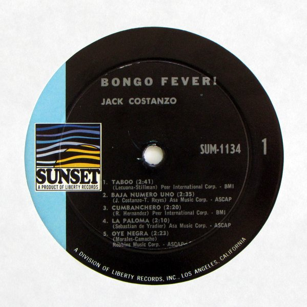 Jack Costanzo - Bongo Fever!