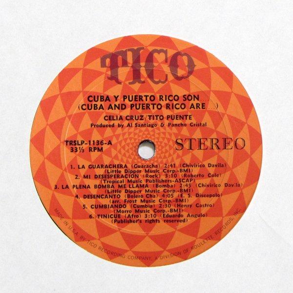 Celia Cruz / Tito Puente - Cuba Y Puerto Rico Son
