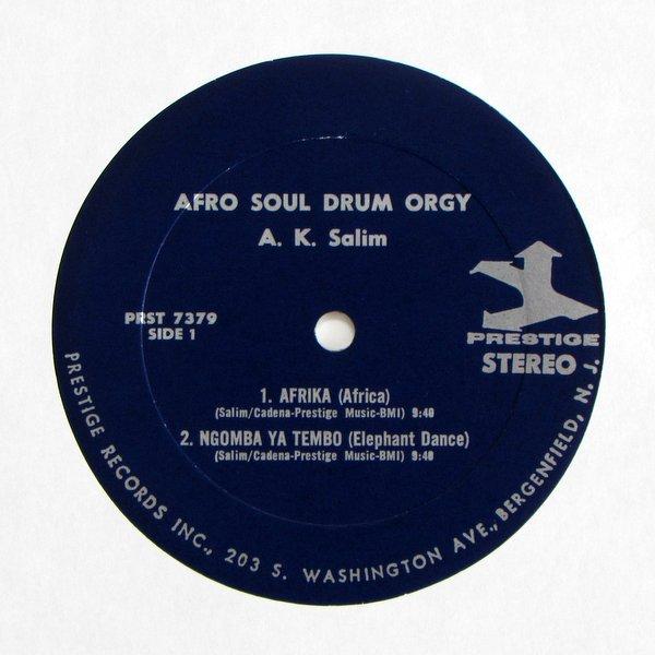A.K.Salim - Afro Soul / Drum Orgy