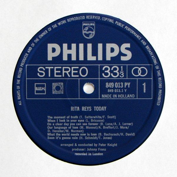 Rita Reys - Today (Recorded In London)