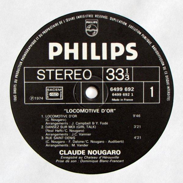 Claude Nougaro - Locomotive D'or