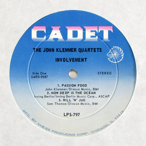 John Klemmer Quartets (The) - Involvement