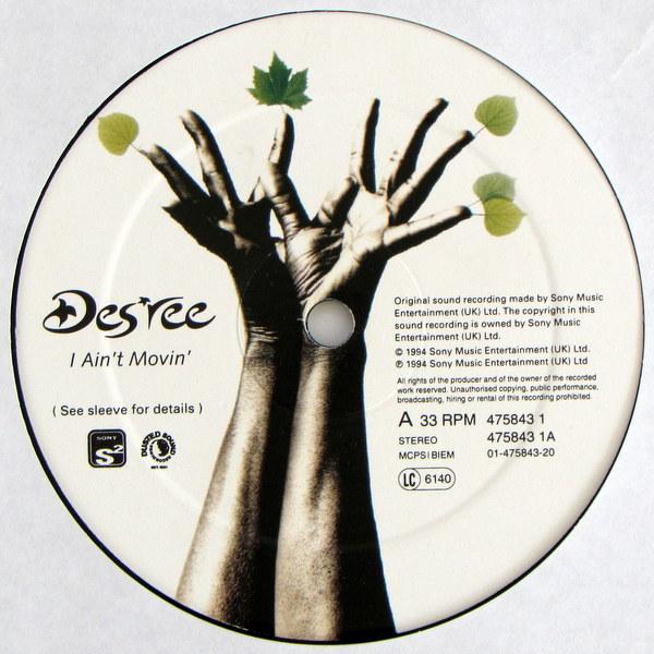 Desree - I Ain't Movin'