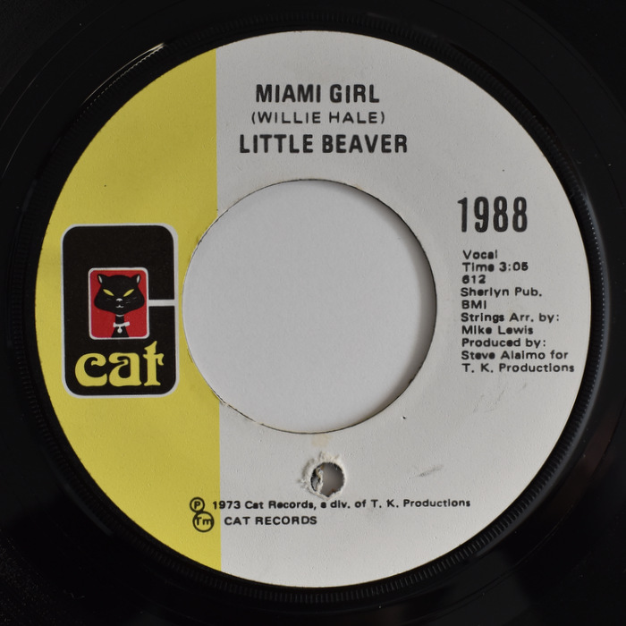 Little Beaver - I Love The Way You Love / Miami Girl
