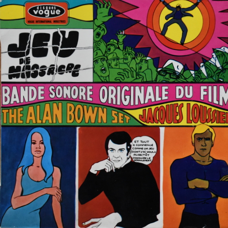 The Alan Bown Set, Jacques Loussier - Jeu De Massacre