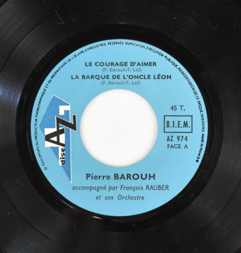 Pierre Barouh - Le Courage D'Aimer