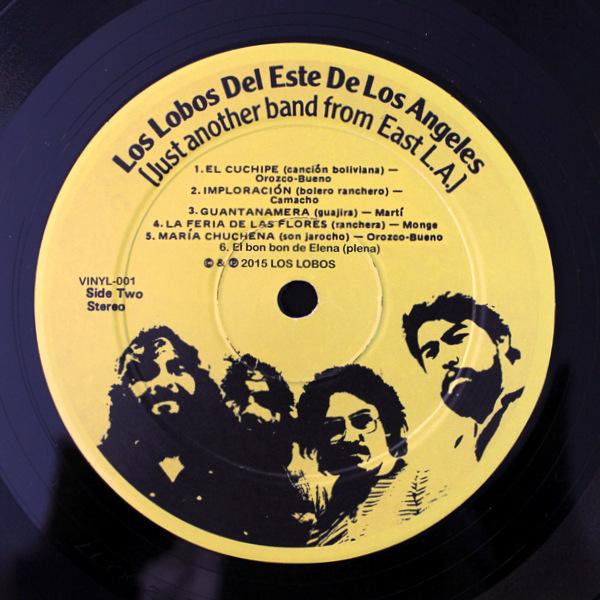 Los Lobos Del Este De Los Angeles - Just Another Band From East L.A.
