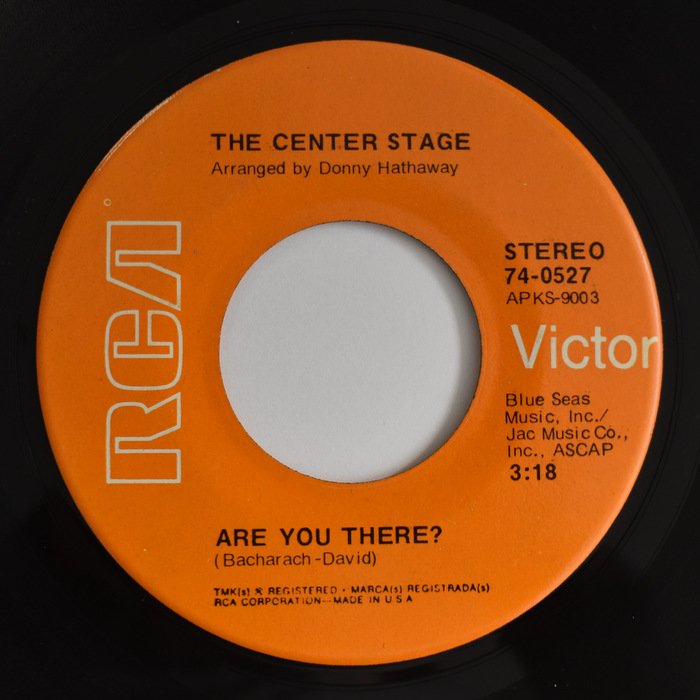 The Center Stage - Are You There? / Everyday's A Fantasy
