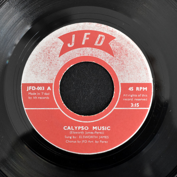 JFD - Elsworth James - Calypso Music / I Won't Last A Day