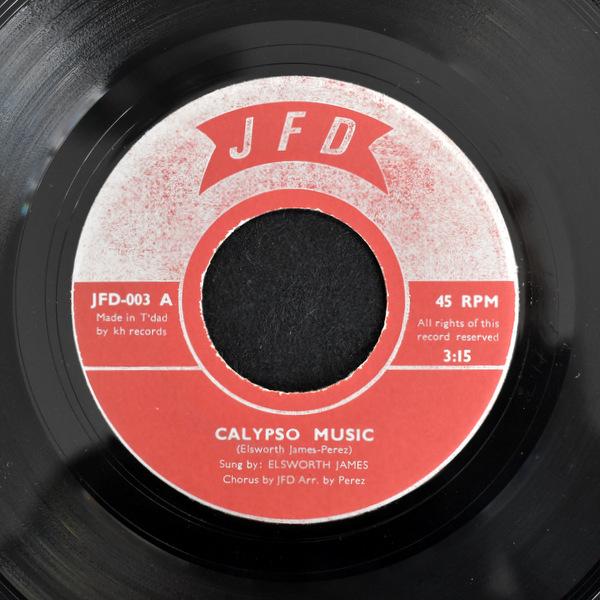 JFD - Elsworth James - Calypso Music / I Won't Last A Day