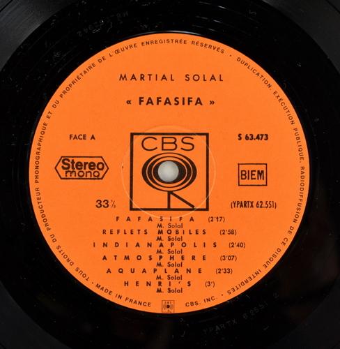Martial Solal - Fafasifa