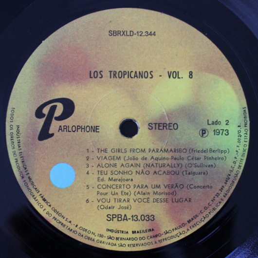 "Los Tropicanos - Volume 8  "" The girls from Paramaribo "" 収録"